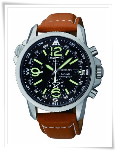 Seiko aviator watch